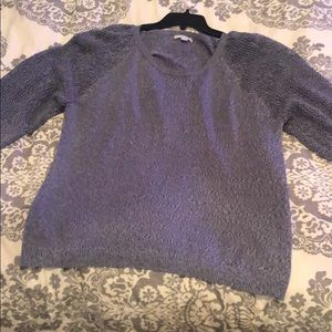 Beautiful raglan cut sweater like new!